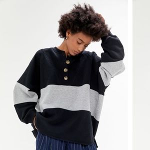 Urban Outfitters Color block Sweatshirt